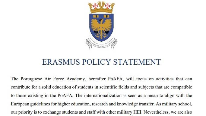 ERASMUS POLICY STATEMENT